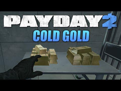 PAYDAY 2: Cold Gold - Ограбление От Сообщества!