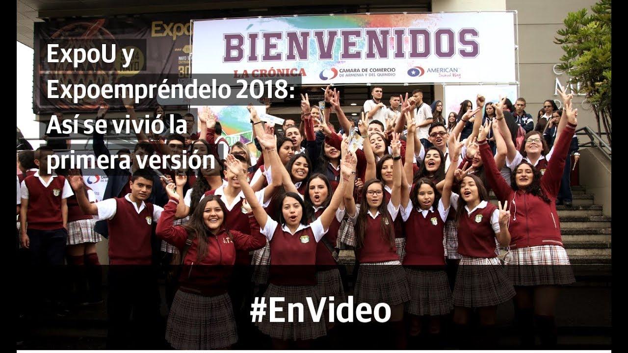 Expo U y Expoempréndelo 2018: Así se vivió la primera versión