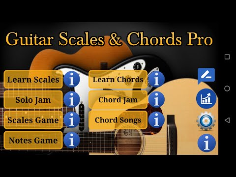 Guitar Scales and Chords App