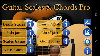Guitar Scales & Chords Pro YouTube video