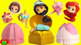 Video Disney Princess Belle, Jasmine, Ariel Surprise Capsules MP3, 3GP, MP4, WEBM, AVI, FLV April 2019