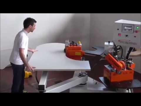 VITAP Eclipse félautomata íves élzárógép