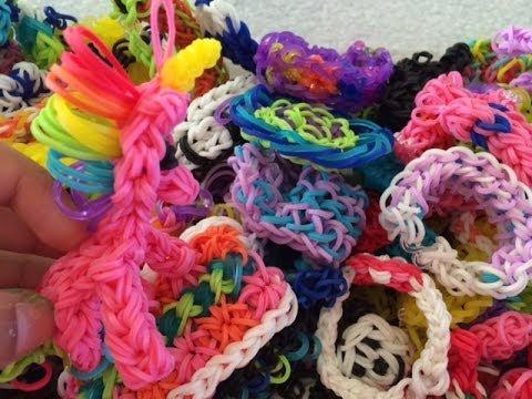 ~New Rainbow Loom Creations~