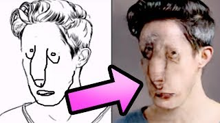I am the first one on YouTube to test out the new pix2pix which turns drawings of humans to... well