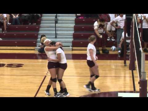 Alma College Volleyball vs. Kalamazoo College - September 20, 2011
