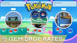 WHY CAN'T I GET ANY POTIONS? (POKÉSTOP ITEM DROP RATES) by Trainer Tips