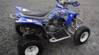 8. YFZ450 2008 start up/review 54hp
