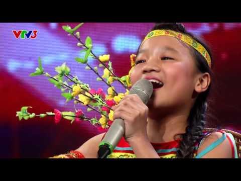 Cô Gái Vót Chông - Hoàng Kim Quỳnh Anh - Vietnam's Got Talent 2016 TẬP 8