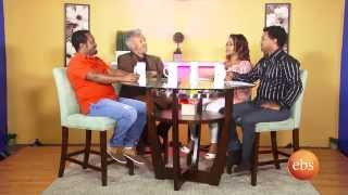 Enchewawet season 2 Ep 1 - interview with artist Zinahbizu Tsegaye and Mesfin Getachew part 1