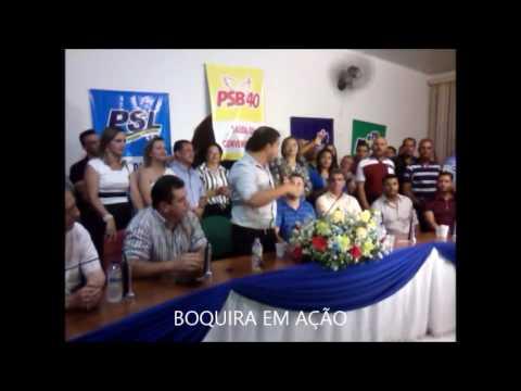 Em convenção realizada, oposição define candidatura de Luciano a prefeito de Boquira-BA.