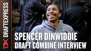 Spencer Dinwiddie Draft Combine Interview