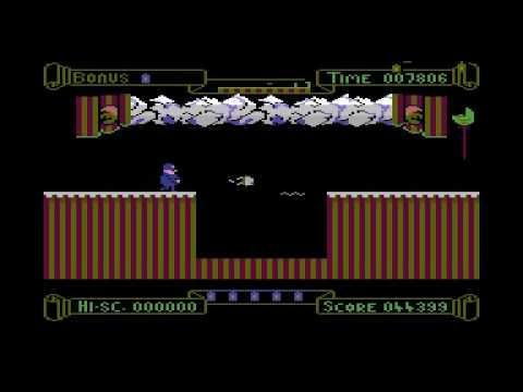 Punchy Commodore 16 - Plus/4 Gameplay