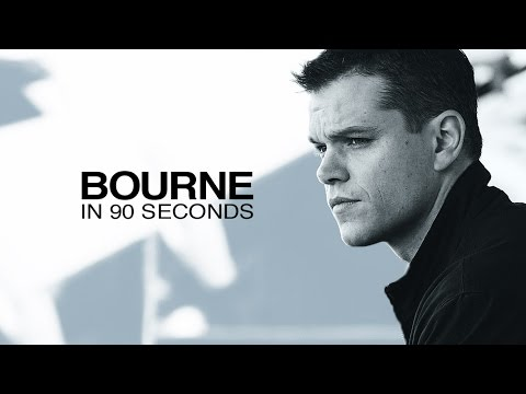 Matt Damon Summarises the Bourne Trilogy in 90 Seconds