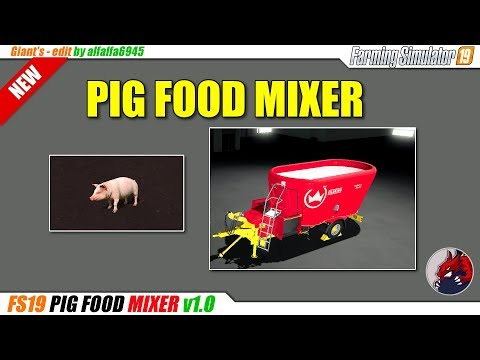 Pig food mixer v1.0