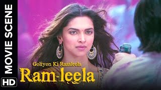 Ranveer is awestruck | Ram - Leela | Movie Scene