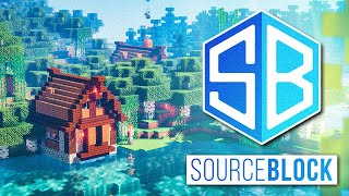 SourceBlock SMP - BASE TOUR & Enchanting Table Setup | Minecraft Server