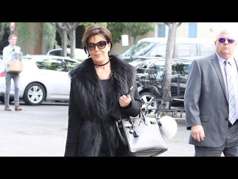 Kris Jenner Smiles When Asked How Kim Is Doing While Shopping With Bodyguard