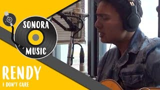 Rendy Pandugo - I Don't Care Live at Sonora FM 92