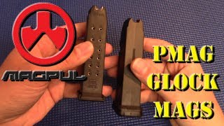 In today's video I review the Magpul PMAG 15 GL 9 mags for Glock pistols.  They are available for a great price, but how do they perform?  Let's give them a good test run and find out.