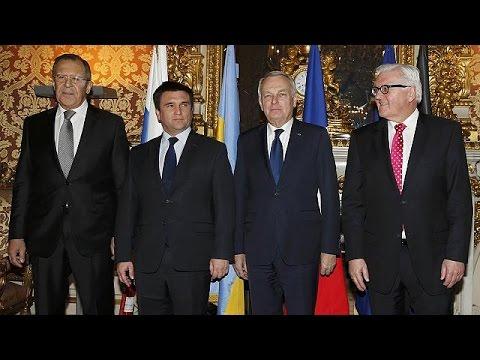 Παρίσι: Στην εντατική η συμφωνία του Μινσκ