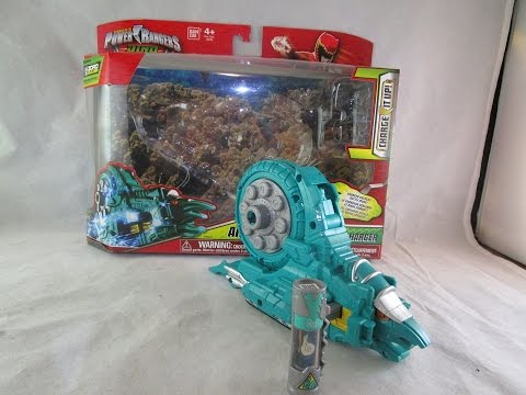 Ammonite  Zord & Charger Review (Power Rangers Dino Charge)