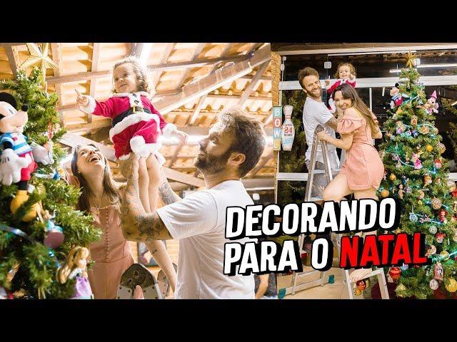 MINHA ÁRVORE DE NATAL DA DISNEY ! - Taciele Alcolea