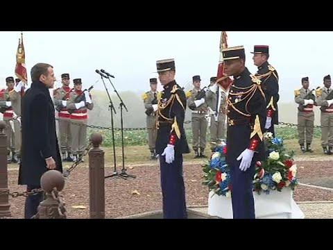 Ένας αιώνας από τον «Μεγάλο Πόλεμο» – Μήνυμα Μακρόν κατά του εθνικισμού…