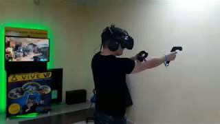 Аттракцион виртуальной реальности HTC VIVE Видео