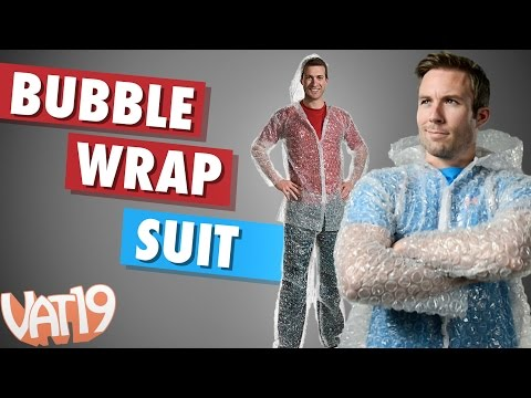The Bubble Wrap Suit