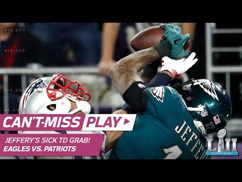 Video: Alshon Jeffery's RIDICULOUS TD Catch! | Can't-Miss Play | Super Bowl LII NFL Highlights