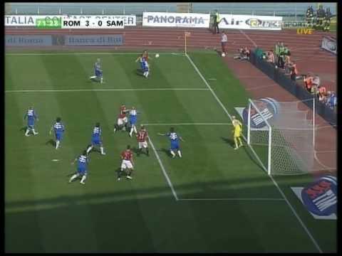 Quand l'AS Roma retrouvait le sourire contre la Sampdoria