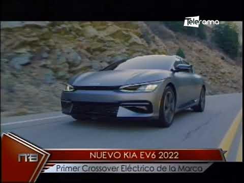 Nuevo Kia EV6 2022 primer Crossover eléctrico de la marca