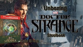Nonton Unboxing Blu-ray steelbook Doctor Strange Fnac édition Film Subtitle Indonesia Streaming Movie Download