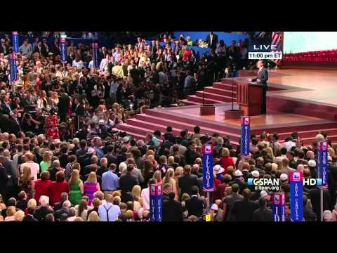 romney - Mitt Romney accepts the Republican Presidential nomination at the 2012 Republican National Convention in Tampa Bay Times Forum. From C-SPAN's LIVE gavel-to-g...