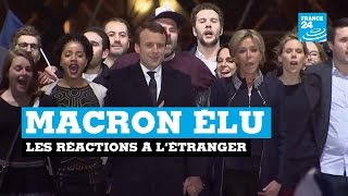 Video Emmanuel Macron élu : les réactions à l'étranger MP3, 3GP, MP4, WEBM, AVI, FLV November 2017