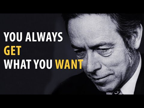 Alan Watts Audio: Did You Know You Always Get What You Want