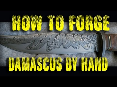 Video How to forge Damascus Steel by hand download in MP3, 3GP, MP4, WEBM, AVI, FLV January 2017