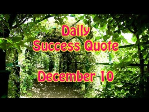 Success quotes - Daily Success Quote December 10  Motivational Quotes for Success in Life by Sydney Bremer