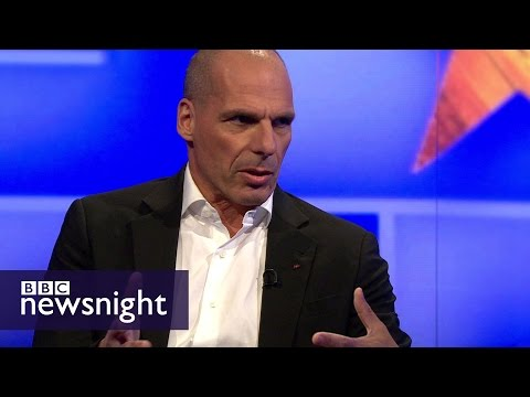 Yanis Varoufakis On Brexit: 'how Can These Smart People Be So Deluded' - Bbc Newsnight
