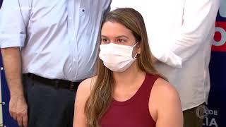 Profissionais da Saúde são imunizados em Marília