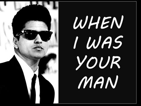 Bruno - When I Was Your Man by Bruno Mars (from his new album Unorthodox Jukebox). Includes Lyrics, Pictures, & Download (below). This is a fan-made-video. Enjoy! Or...