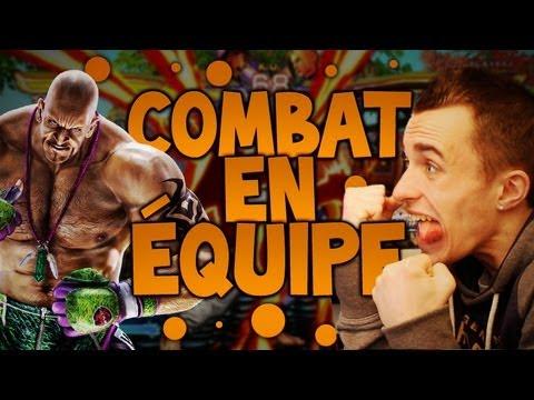Tekken - Combat en équipe avec UNE GEEK de Tekken ! - Le cri le plus strident du monde ;_;