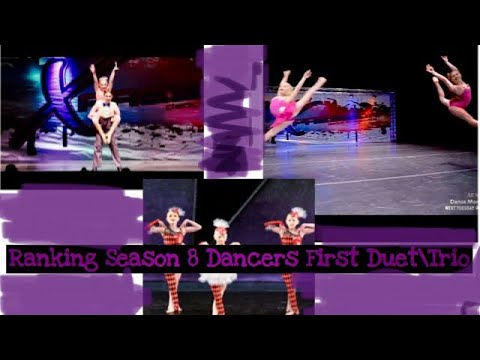 Ranking Season 8 Dancers First Duets\Trios