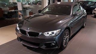 """Hello and welcome to BMW.view. In this video we review the interior and exterior of the 2017 BMW 420d xDrive Coupé Modell M Sport (F36). Produced in 4K. Facebook: https://www.facebook.com/pages/BMWview/860051290681663?ref=hlsubscribe -[BMW.view]- here: https://www.youtube.com/channel/UCuZoR8ZNgfPKBaPMPryyD1gMotor/engine: 140 KW/1995 ccmLackierung: Mineralgrau metallicPolster: Stoff Hexagon / Alcantara Anthrazit/SchwarzFelgen: 18"""" M Leichtmetallräder Doppelspeiche 441 M Licht: Xenon-Licht für Abblend- und FernlichtGrundpreis: 42.900 ,00 EURPakete: 7.140,00 EURSonderausstattung: 9.030,00 EURÜberführungskosten: 750,00 EURGesamtpreis = 59.820,00 EURPakete: Modell M Sport, M Sportpaket, ConnectedDrive Services Paket, Comfort Paket, Sonderausstattung"""