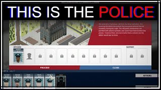 This is the Police gameplay - These cops are terrible - Police simulator game (let's play/let's try)