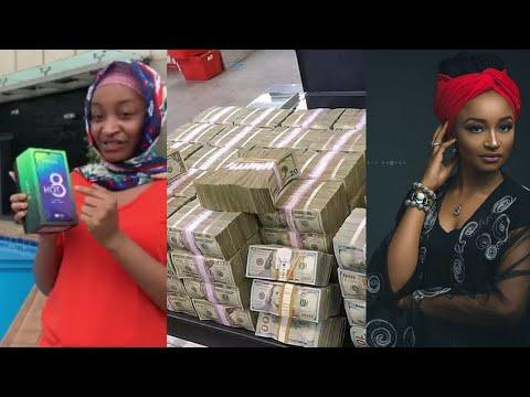 Rahma Sadau Ta Saka Gasa Ga Duk Wanda Yalashe Yanada $1000 (Naira 360,000) - Infinix Hot8