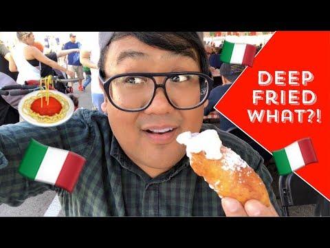 Italian Food Festival (San Gennaro) | Vlog # 6 | Greggy Soriano
