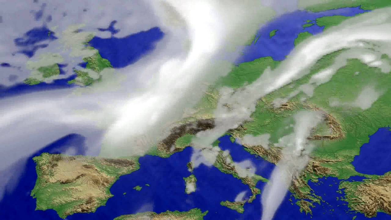Cloud forecast Europe 2016-06-18