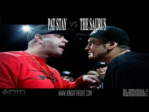 KOTD - Rap Battle: Pat Stay vs The Saurus (2012)