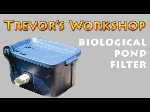 Homemade biological pond filter for Diy pond bio filter
